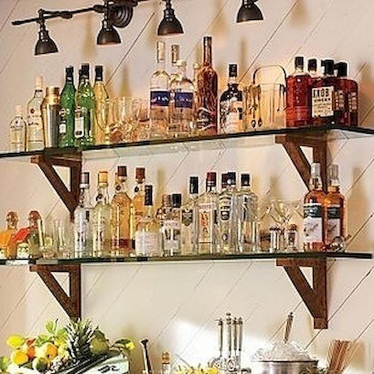 58+ Exciting Simple Apartment Bar Cart Ideas On A Budget