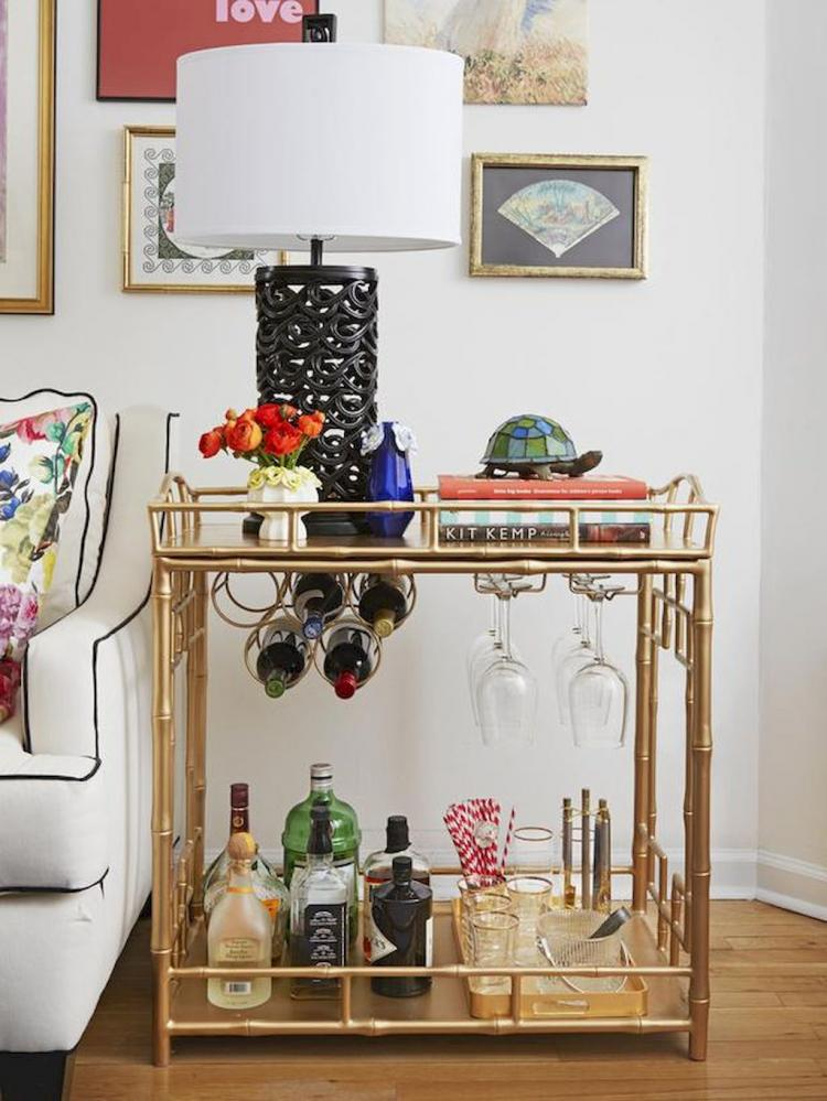 58 Exciting Simple Apartment Bar Cart Ideas On A Budget