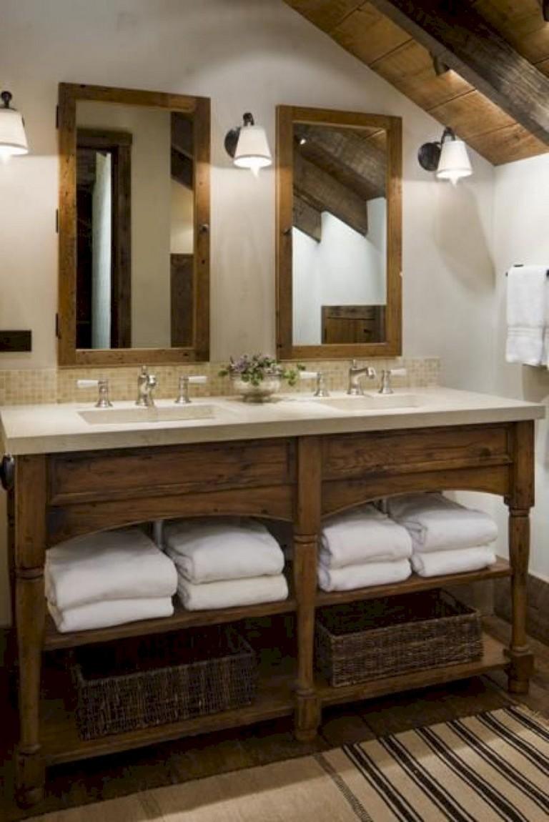25 marvelous modern farmhouse bathroom vanity ideas
