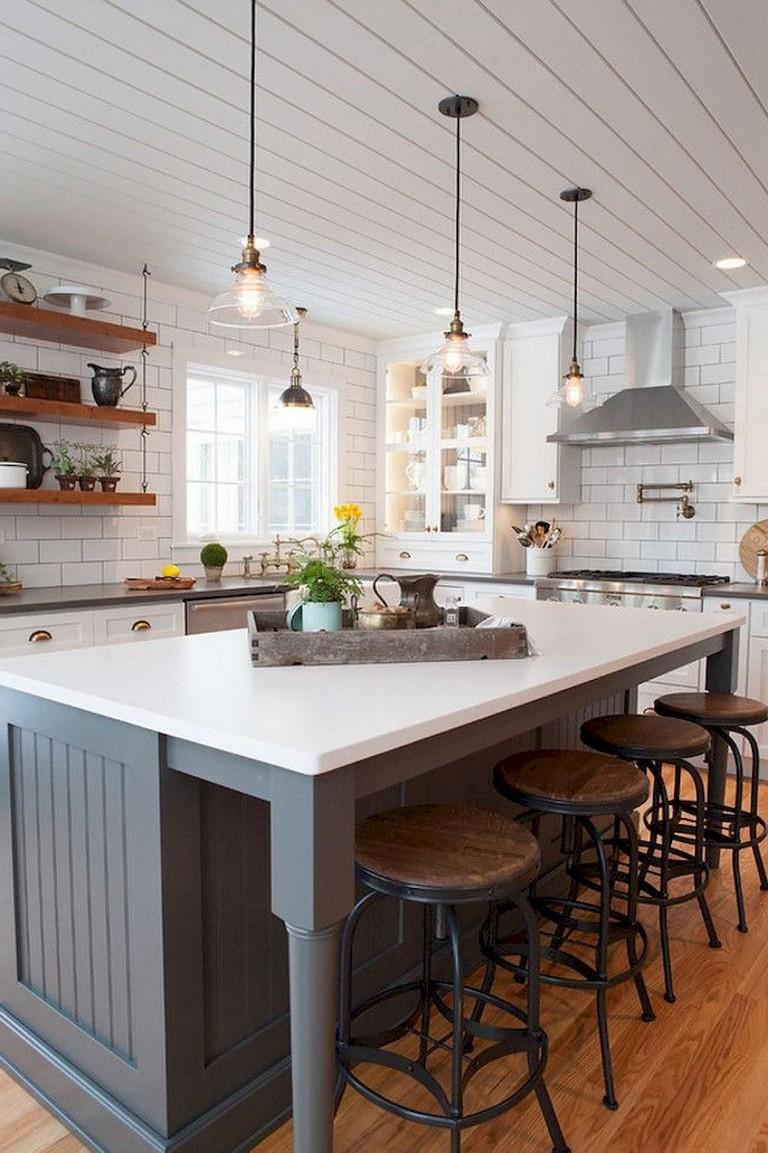 60+Best Farmhouse Kitchen Ideas on Farmhouse Kitchen Ideas  id=72310