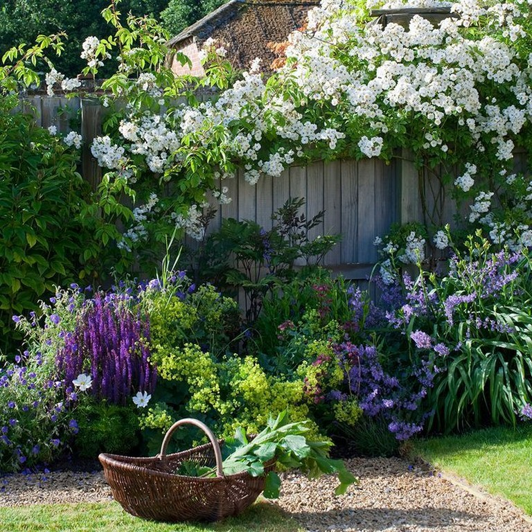 Lovely 20 Cottage Style Landscaping Ideas To Enhance Your: 35 Lovely Cottage Garden Design Ideas For Your Dream House