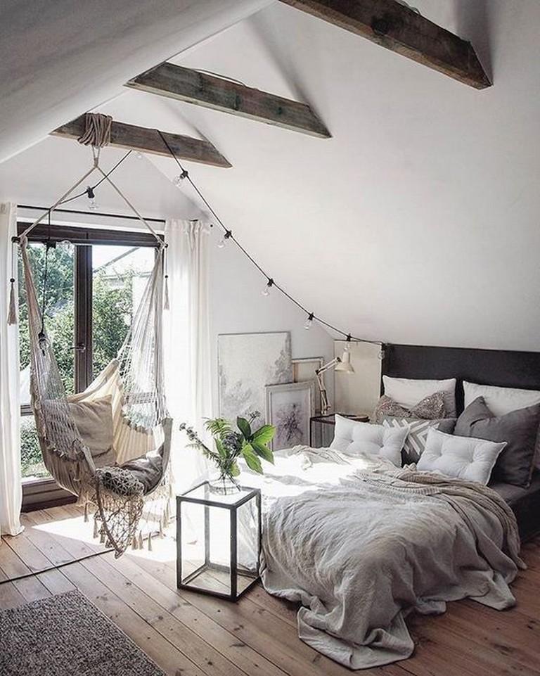 35 modern rustic scandinavian bedroom design ideas  page